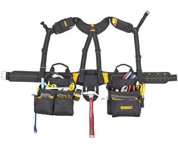 DEWALT-DG5617-20-Pocket-Pro-Framer's-Combo-Apron-Tool-Belt-and-Yoke-style-Suspenders