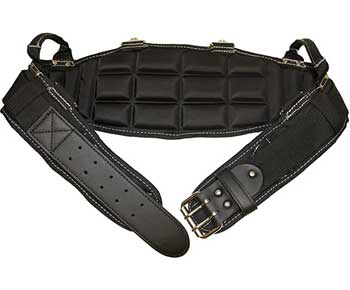 Gatorback Pro-Comfort Back Support Belt Black