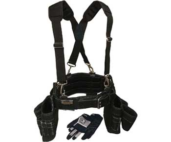 Gatorback Professional Carpenter's Tool Belt Deluxe Package