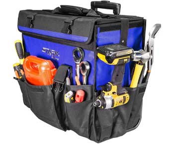 Stark-20-inch-Rolling-Wide-Mouth-Tool-Bag-Tote-Telescoping-Handle-Tool-Organizer