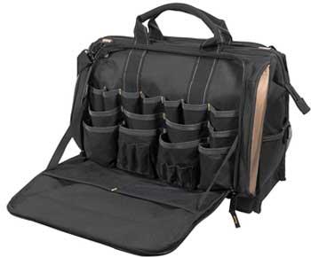 CLC-Custom-LeatherCraft-1539-Multi-Compartment-50-Pocket-Tool-Bag