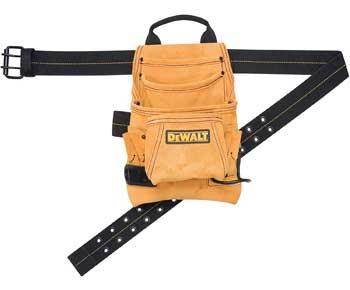 Custom-Leathercraft-DG5333-10-Pocket-Carpenter's-Suede-Nail-and-Tool-Bag