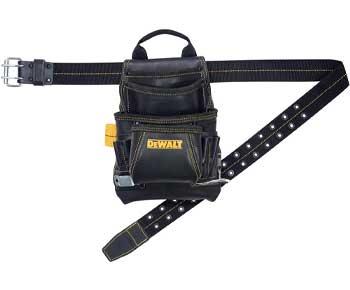 DEWALT-DG5433-Tool-Bag,-10-Pocket,-Top-Grain-Leather