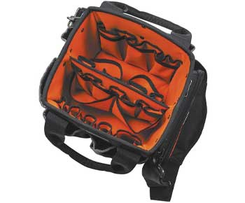 Tool-Bag-with-Shoulder-Strap-Has-40-Pockets-for-Tool-Storage-and-Orange-Interior-Klein-Tools-5541610-14